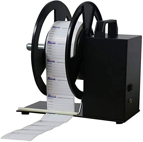 BSC A590mm automatique Autocollant étiquette de chantier pour imprimante code-barres Autocollant Rewind machine 20,3cm/S Positive et négative rembobinage automatique Rewind BSC A6 120mm