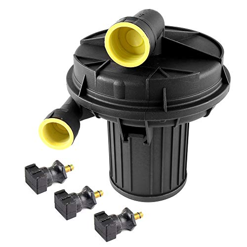 ROADFAR New Electric Secondary Air Injection Smog Pump with 3x air pump mounts fit for 00-08 Audi A4 A6 A8 Q7 TT Quattro Volkswagen Beetle Cabrio Eurovan Golf Jetta Passat Touareg 06A959253A