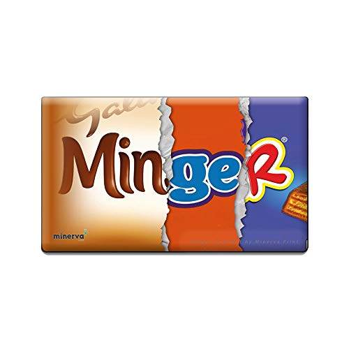 Minger Wrapper for Chocolate Bar Novelty Joke Funny Rude Gift Birthday Valentines Day (No Chocolate Included)