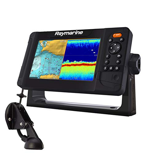 Raymarine Element 7S Sonda Plotter GPS 7' WiFi Chirp con Transductor sin Cartografía