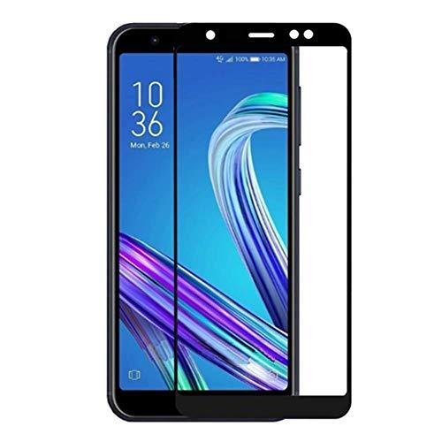 XMTN Asus ZenFone Live (L1) ZA550KL 5.5' Pellicola Protettiva,Ultra Resistente Full Coverage Durezza 9H Vetro Temperato Protezione Schermo per Asus ZenFone Live (L1) ZA550KL Smartphone (Nero)