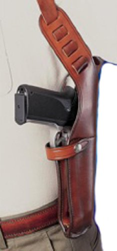 Bianchi X15 Shoulder Holster 4-5 Auto - Tan (Right Hand, Large)