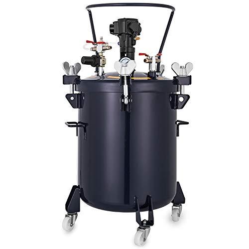 Cueffer 30L Tanque de Pulverizador 90PSI Tanque de Pulverizar Automático Spray Paint Pressure Tank de 31.2 cm Pulverizador Profesional de Pintura en Aerosol (30L)