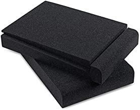 Sound Addicted - Studio Monitor Isolation Pads for 5 Inch Monitors, Pair of Two High Density Acoustic Foam which Fits most Speaker Stands   SMPad 5