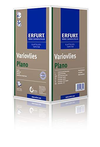 Erfurt Glattvlies Variovlies | Plano 75 cm - 1 Karton mit 6 Rollen