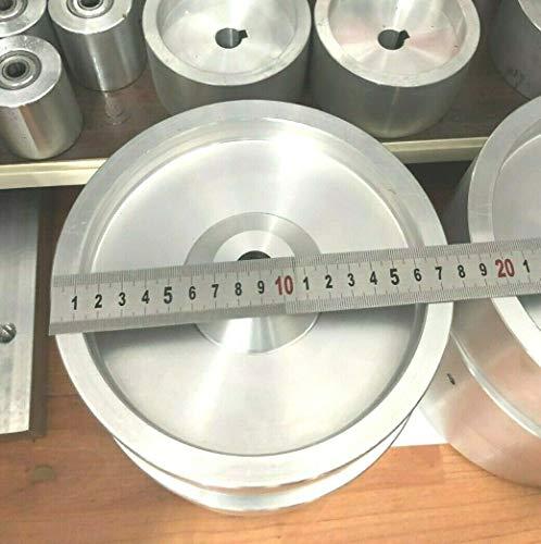 TR Maker Bandschleifer Antriebsrad 17,8 cm Durchmesser, 5/8 Zoll Schaft für 2 x 72 Messerschleifer
