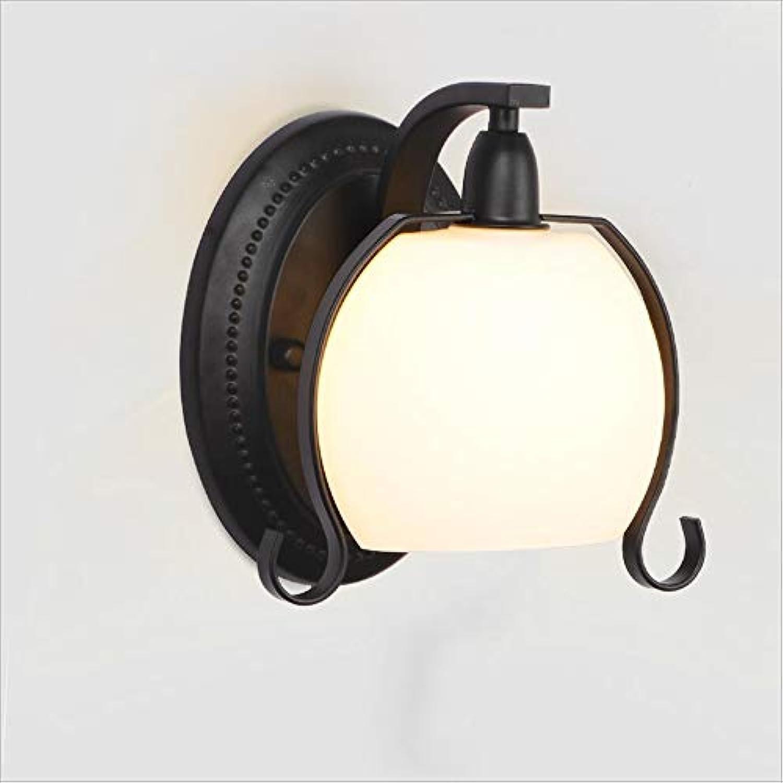 XRFHZT Treppen-Wandleuchte Schlafzimmer Kopfhrer-Wandlampe Aisle Innenbeleuchtung Creative Single Head Wandlampe