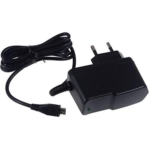 Powery Cargador/Adaptador de Corriente con Micro-USB 2,5A para Nokia ASHA 301