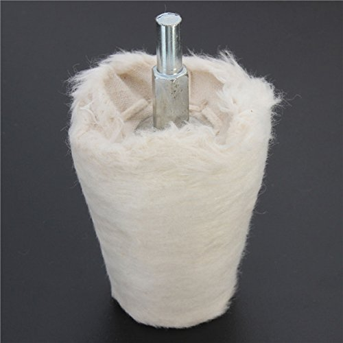 50mm Cone Buff Polishing Buffing Wheel Flannel Polishing Wheel Abrasive Tool