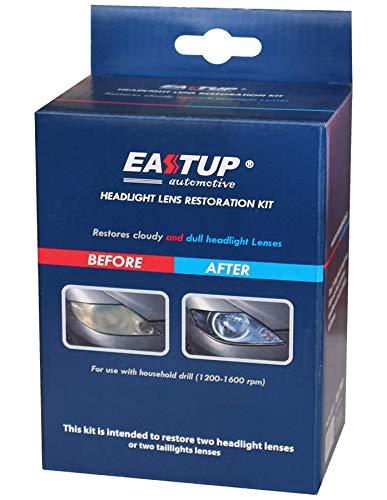 EASTUP Kit de restauración de Faros del automóvil