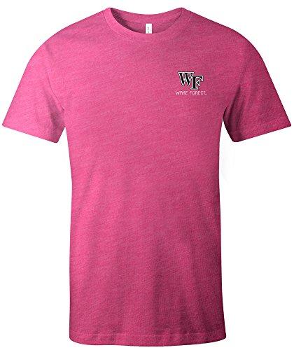 Image One Unisex NCAA Azteken quadratisch kurz Ärmel Triblend T-Shirt, Unisex, 15326-165, Beere, XXL