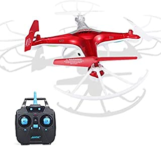 HUITRADY JJRC H97 2.4GHz 4CH 6-Axis LED with Camera RC Quadcopter Drone (Red)