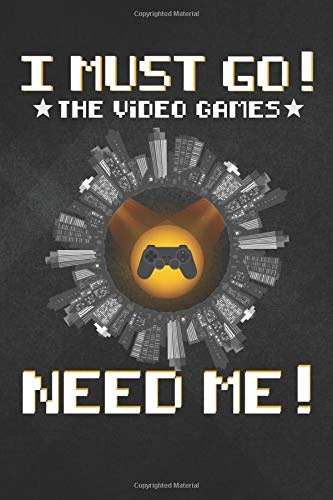 Need Me: The Video Games Need Me Bat Signal Gamer Nerd Notebook, Journal for Writing, Size 6