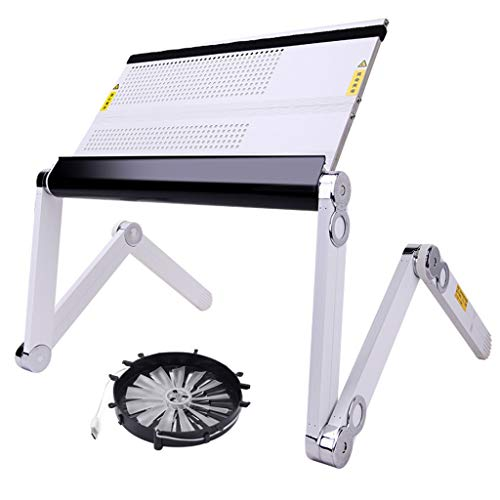 Side Table Notebook Stand Reading Table Foldable And Portable Design. Adjustable Height And Viewing Angle,Can Be Used As A Breakfast Tray Or Drawing Table,Laptop Stand Ergonomic Interior furniture