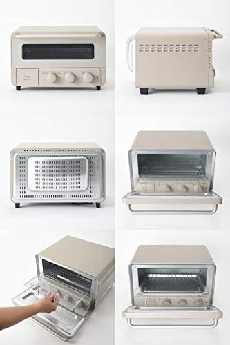 BRUNOブルーノトースター4枚焼きスチームコンベクショントースタースチームアンドベイクトースターBOE067(グレー)