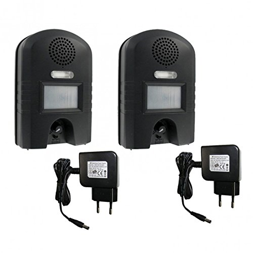 WEITECH Pack 2X Garden Protector 2 WK0052 + Chargeur 220V