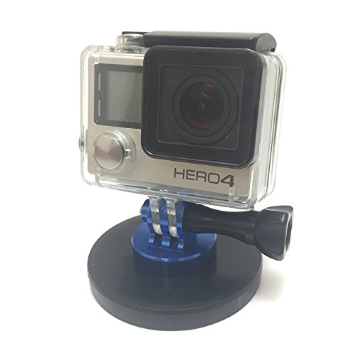 Rubber Coated Magnet Mount Compatible with GoPro Hero Cameras