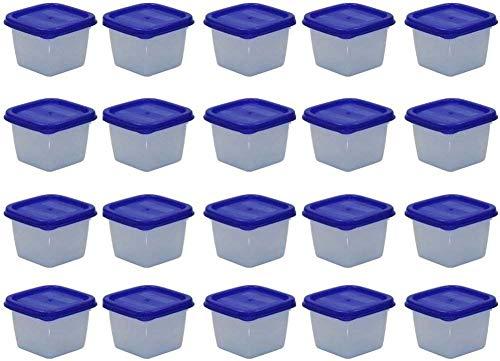 mikken Mini Gefrierdosen, Kunststoff, Weiß, 100 ml