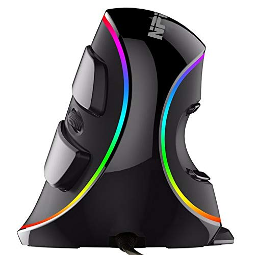 NPET Vertical Mouse (V20-RGB Ergonomic Vertical USB Mouse)