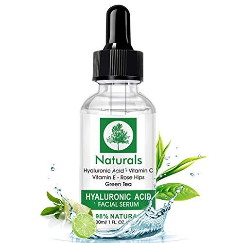 Vitamin C Serum, Hyaluronic Acid Serum Rich in Vitamin C (1oz)