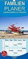 Landschaften im Norden - Familienplaner hoch (Wandkalender 2022 , 21 cm x 45 cm, hoch): Fotos aus Mecklenburg Vorpommern (Monatskalender, 14 Seiten )