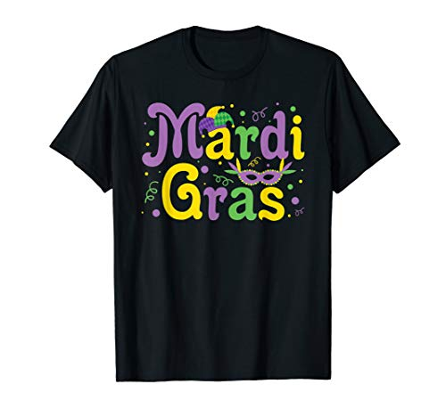 Karnevalskleidung Violett Gelb Grün Schwarz T-Shirt