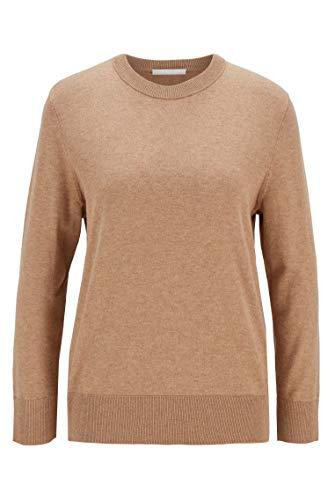 BOSS Damen Ibinna Sweater, Beige, M EU