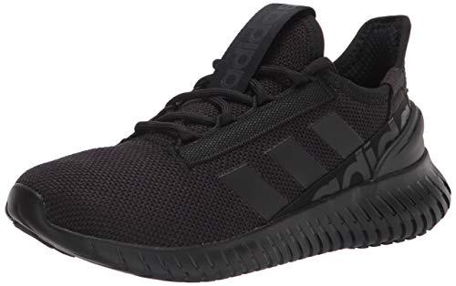 adidas Men's Kaptir 2.0 Running Shoes, Black/Black/Carbon, 9