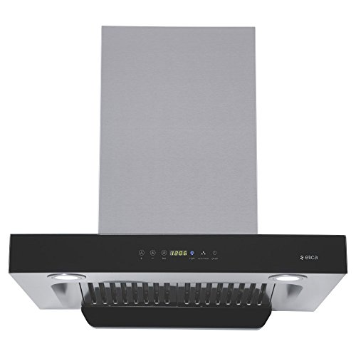 Elica 60 cm 1200 m3/hr Auto Clean Chimney (SPT HAC TOUCH BF 60, 2 Baffle Filters, Touch Control, Steel/Grey)