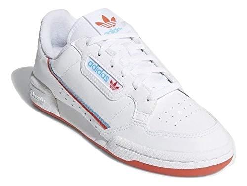 adidas Mujer Continental 80 J Zapatillas Blanco, 38 2/3