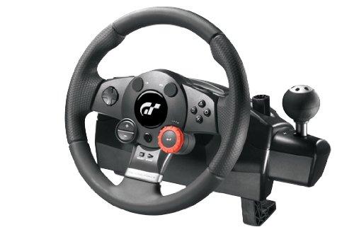 Logitech Driving Force GT Refresh Volant Gaming compatible PC et PS3 Noir