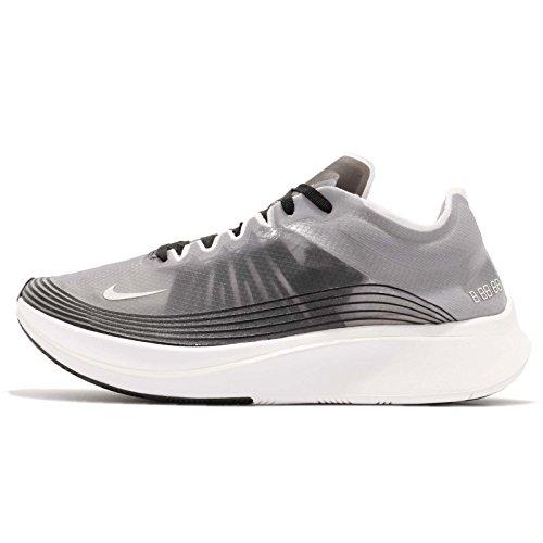 Nike Zoom Fly SP Men's running shoes AJ9282 001 Multiple sizes (8.5,Medium (D, M)), Black/Light Bone/White