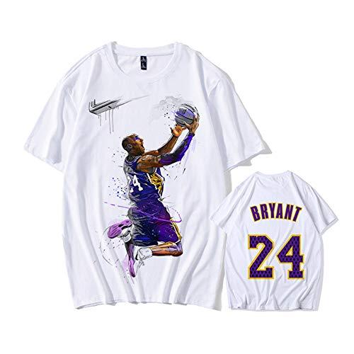 ZXPYZ Lakers Kobe Bryant Camiseta Conmemorativa
