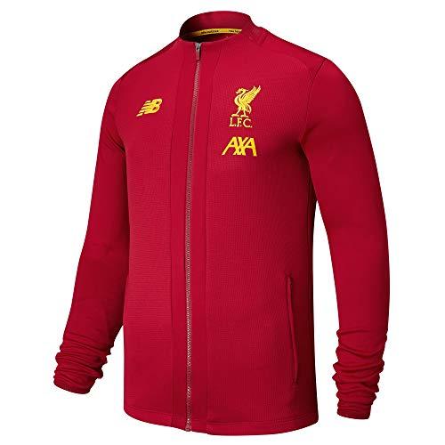 New Balance Herren FC Liverpool Trainingsjacke rot M