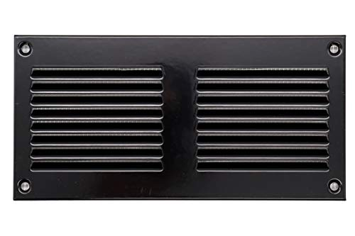 Vent Systems 20,3 x 10,2 cm – Griglia di ritorno dell aria in metallo con protezione contro i parassiti integrata, copertura di ventilazione HVAC per il miglioramento della casa, 200 x 100 mm