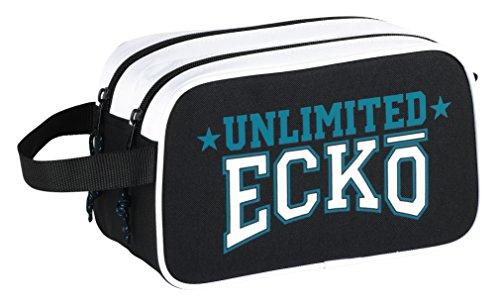 Ecko Unltd - Neceser con 2 Cremalleras Adaptable a Carro (SAFTA 811744518)