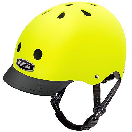 Nutcase - Street, Fahrradhelm für Erwachsene, Gelb (gelb), Gr. L (60-64 CM)