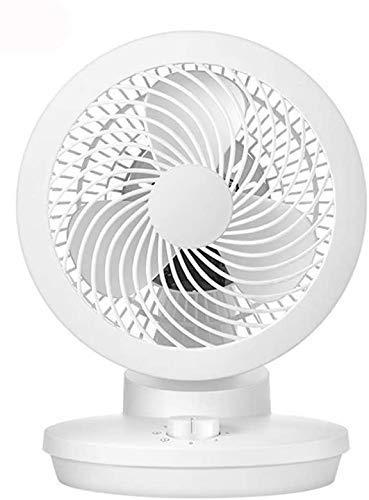 Ventilador eléctrico de la circulación de aire Aficionado al hogar Pequeño escritorio de la turbina Convección silencioso Dormitorio de escritorio Ventilador, B
