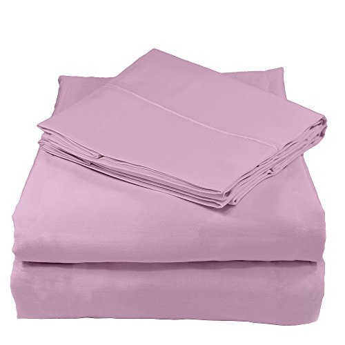 Whisper Organics 100% Organic Cotton Bed Sheet Set, 300 Thread Count - GOTS Certified (Queen,...