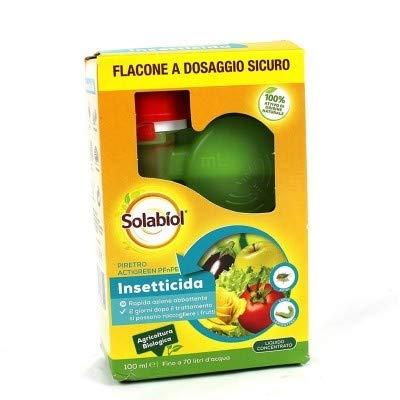 Solabiol Insetticida Biologico Piretro ActiGreen PFnPE 100ml