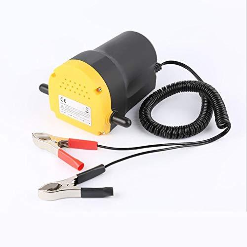 FUNRE 60W Elektro-Auto-Ölpumpe Crude Oil Flüssigkeitspumpe Extractor Übertragung Motor Absaugpumpe + Schläuche for Auto-Auto-Boots-Motorrad-12V (Color : A)