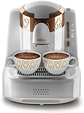 Arzum Ok001 Türk Kahve Makinası, Plastik, Beyaz