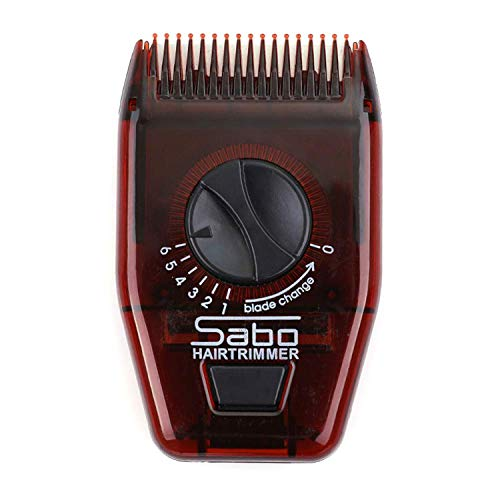 Kstyhome Manueller Haarschneider Kamm Männer Frauen Multifunktionaler manueller Haarschneider Tragbarer Friseurkamm Verstellbarer Haarschneider für die Heimreise
