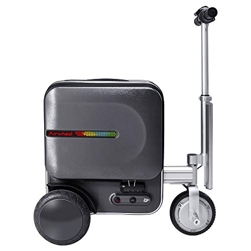 Airwheel SE3 Smart Luggage Riding(rideable) Smart Riding Suitcase Kids Suitcase(Gray)