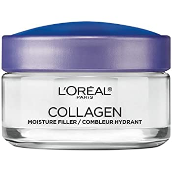 L Oreal Paris Skincare Collagen Face Moisturizer Day and Night Cream Anti-Aging Face Neck and Chest Cream to smooth skin and reduce wrinkles 1.7 oz