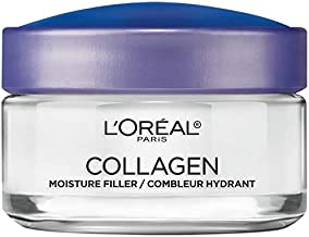 L'Oreal Paris Skincare Collagen Face Moisturizer, Day and Night Cream, Anti-Aging Face, Neck and Chest Cream to smooth skin and reduce wrinkles, 1.7 oz