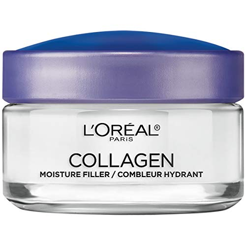 Collagen Face Moisturizer by L'Oreal Paris Skin Care Day and Night Cream Anti Aging Face Cream to...