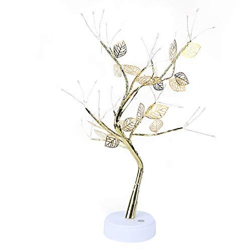 Elegante Bonsai Light, 72 piezas LED Lámpara de árbol de bonsai brillante, para decoración de bodas en su dormitorio