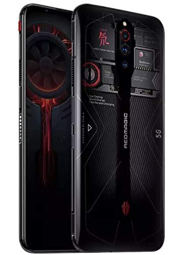 "ZTE Nubia Red Magic 5G (NX659J) 限定 透明版 Transparent edition / 6.65"" / 256GB + 12GB RAM/Dual SIM/SIMフリー/China Ver. with Global ROM/Google Play対応/日本語対応 (Transparent/透明版)"