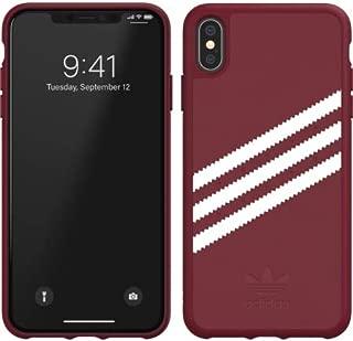 adidas Gazelle Case Compatible w iPhone Xs Max Collegiate Burgundy